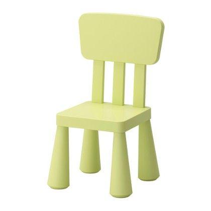 Children's Chair Indoor & Outdoor - Light Green - Home Essentials