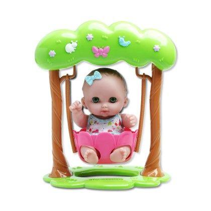 Doll In Swing. - JC Toys