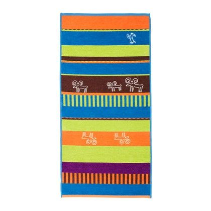 Flat Woven Rug- Multicolor - Home Essentials