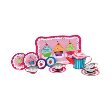 Cupcake Tin Tea Set - Schylling Toys