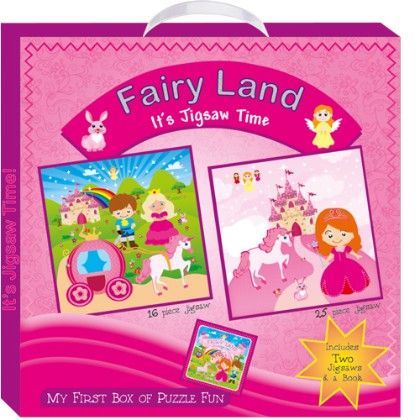 Art Factory - Fairy Land (my First Box Of Puzzle Fun)