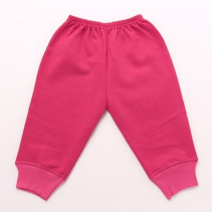 Legging  Hosiery Cloth With Raising - Dark Pink - Mom's Pet