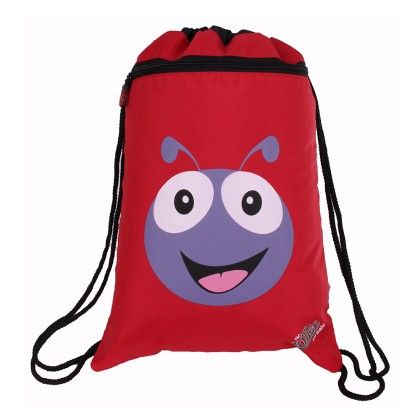 Polka The Ladybird - Soft String Bag - Cuties & Pals