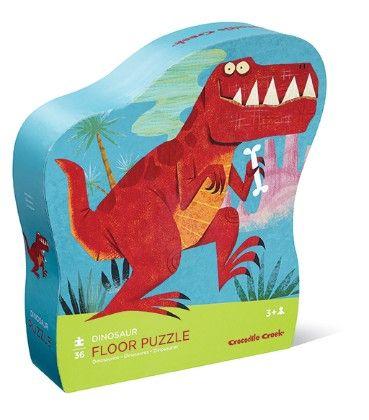 Dinosaur Shaped Puzzle - Crocodile Creek
