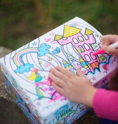 Colour A Princess Fairy Box - Great Pretenders