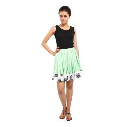 Pleats Please Skater Skirt - Masaba Gupta