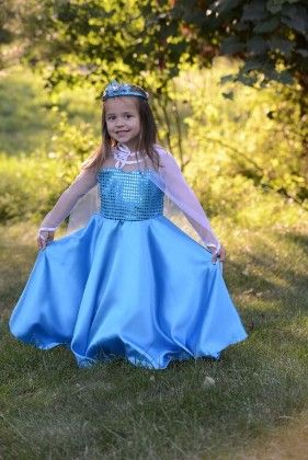 Blue Dress With White Net - Designs By Meghna