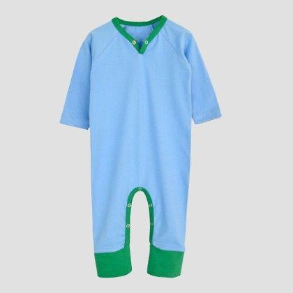 Caroline Blue- Green Long Sleeve Jumpsuit - A.T.U.N