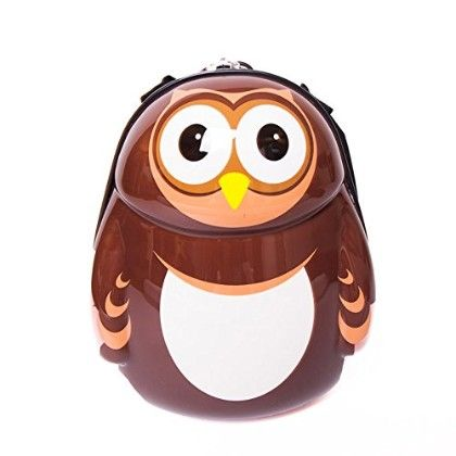 "Pipi The Owl - Hard Shell 13"" Backpack - Cuties & Pals"