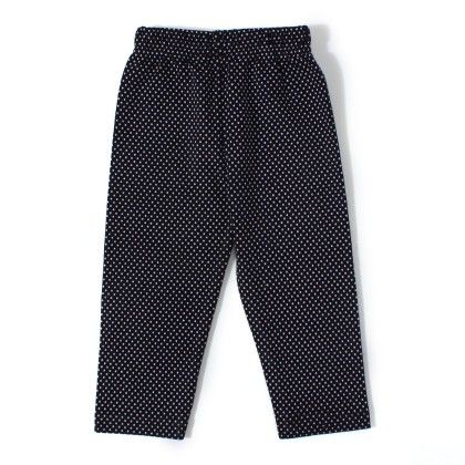 Polka Dot Legging Black - Naturelle