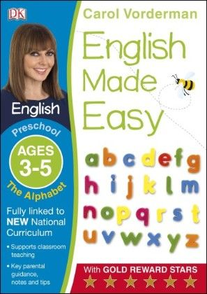 English Made Easy The Alphabet Preschool Ages 3-5 - DK Publishers