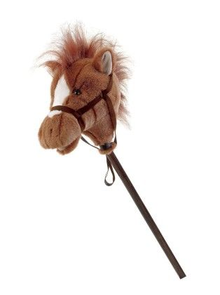 "Easy Ride'um Brown Horse - 33"" - Mary Meyer"