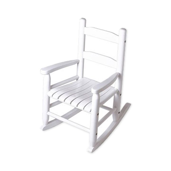 Groovy Childs Rocking Chair White Alphanode Cool Chair Designs And Ideas Alphanodeonline