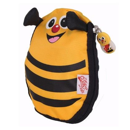 Cazbi The Bee - Soft Foldable Backpack - Cuties & Pals