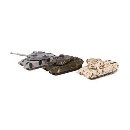 Diecast Light/sound Tanks - Schylling Toys