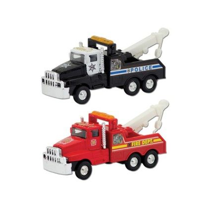 Dc Emergency Tow Trucks - Schylling Toys