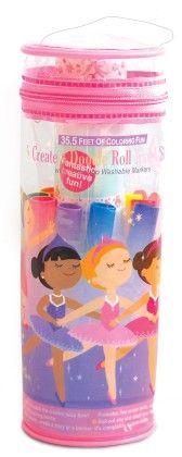 Create & Doodle Roll Travel Set - Pretty Ballerinas - The Piggy Story