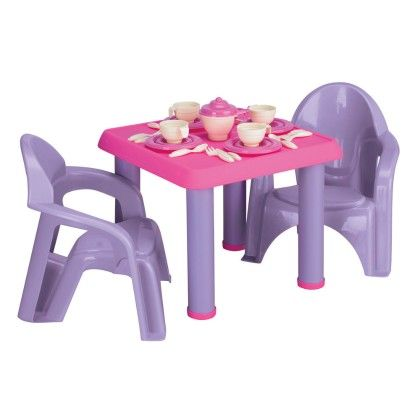 28 Pieces Tea Party Set - American Plastic Toys