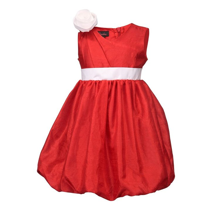 4eb8e0f08 Buy Red Balloon Dress With A Flower online @ ₹1075 | Hopscotch