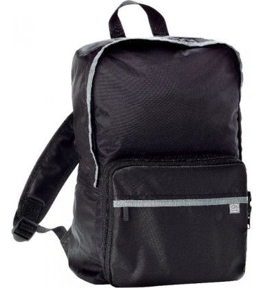 Foldaway Backpack (daypack) - Black - Go Travel