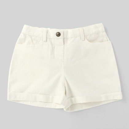 Moha Shorts White - My Lil Lambs