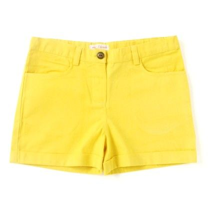 Moha Shorts Yellow - My Lil Lambs