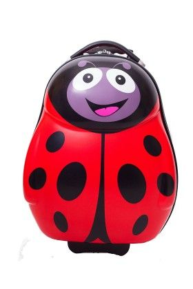 "Polka The Ladybird - Hard Shell 13"" Backpack - Cuties & Pals"