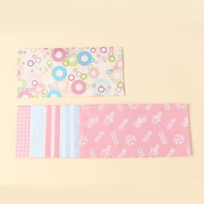Baby Print Envelopes - Pack Of 6 - Velvetise