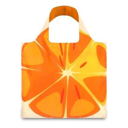 Frutti Orange Reusable Shopping Bag - Loqi