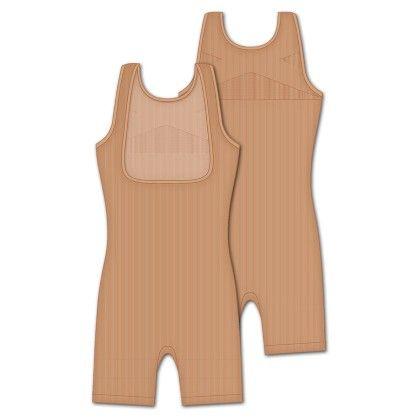 Fashionable Shaping Longline-nude - Rene Rofe
