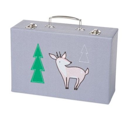 Deer Travel And Comfort Stash Box - Manhattan Toy