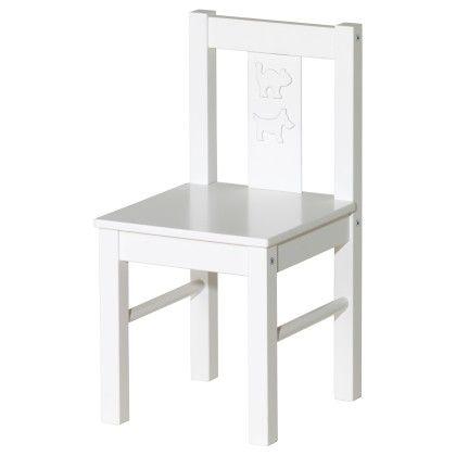 Children's Chair - White - Home Essentials