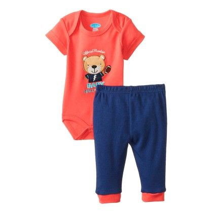 Baby-boys Newborn Baby Hall Of Fame 3 Piece Pant Set - Bon Bebe