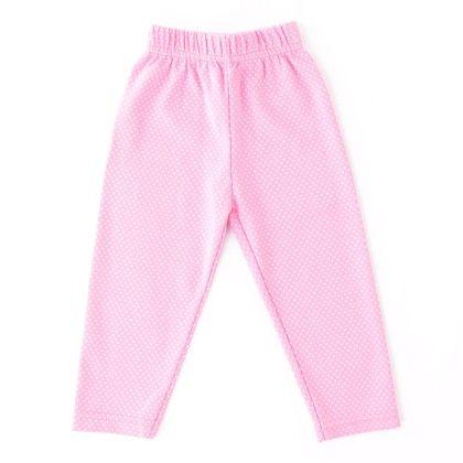 Polka Dot Legging Pink - Naturelle