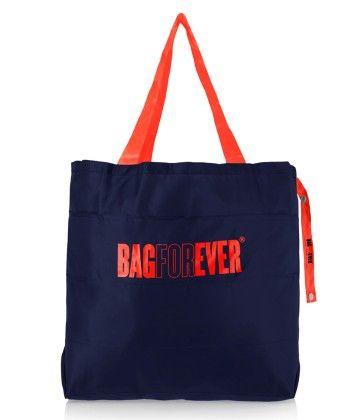 Pack Of 2 Bagforever Navy Blue Shopping Bag - Be4Bag