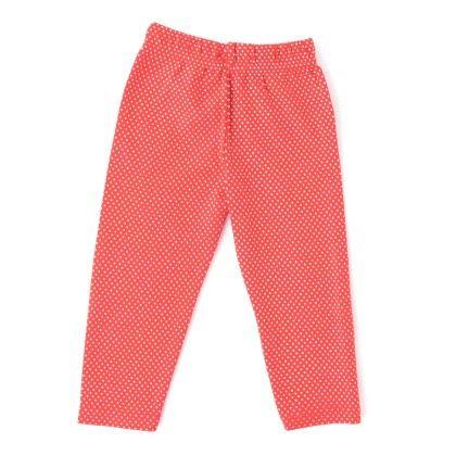 Polka Dot Legging Red - Naturelle