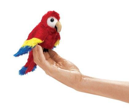 Mini Scarlet Macaw - Folkmanis