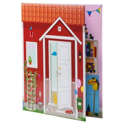 Lightweight And Easy To Fold Doll House - Home Essentials