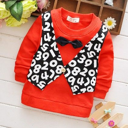 Red And Black Jacket Style T-shirt - Mellow
