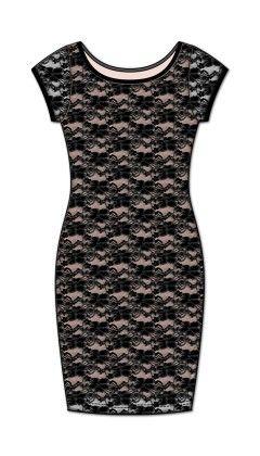 Special Occasion Slip Dress-black - Rene Rofe