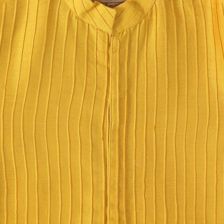 ad683b386c648 Yellow silk mul pin tucks sherwani with jodhpur