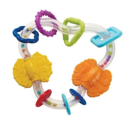 Triangle Teether Rattle - Manhattan Toy