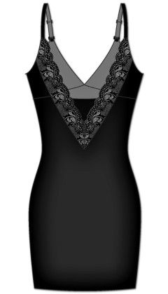 Fancy Fit Slip-black - Rene Rofe