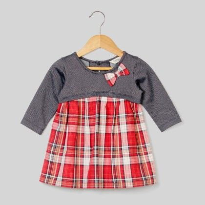Red Check Dress Red Check - Infant - Beebay
