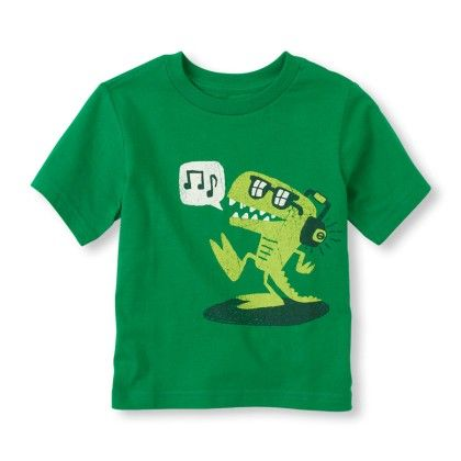 Short Sleeve Music Monster Graphic Tee - The Children's Place