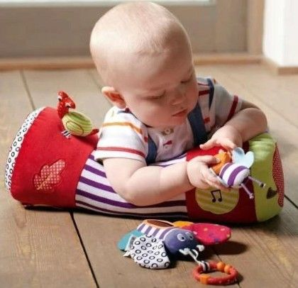 Baby Roller Pillow Walk Crawl Climb Learning Toys With Teether Bb Device Musical Toys - Mamas & Papas