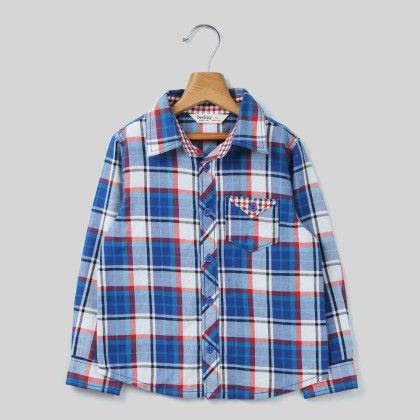 Blue Yarn Dyed Check Shirt Blue Check - Beebay