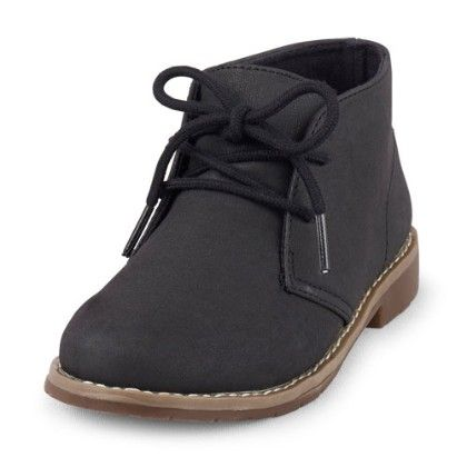 Kalahari Desert Boot - Black - The Children's Place