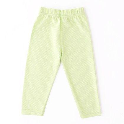 Polka Dot Legging Lime - Naturelle
