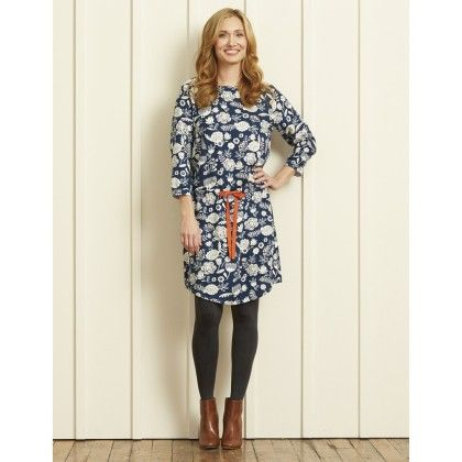 Dropped Waist Dress - Field Flowers - Hatley